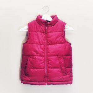 Osh Kosh Puffer B'Gosh Vest Pink Medium